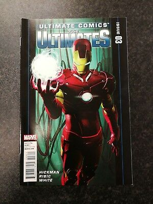 Ultimate Comics The Ultimates #03 - Marvel 2011 - Hickman - Ribic - White