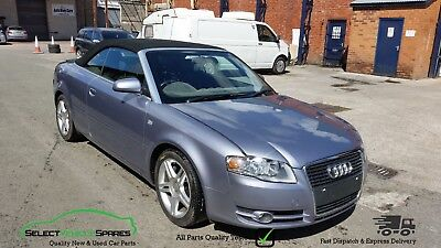 '06 Audi A4 B7 2.0 Tfsi Convertible/cabriolet Blue Breaking Spares Parts Salvage
