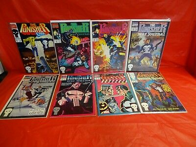Lot Of 56 Miscellaneous Marvel Comics: The Punisher Comics *see Details* ~!