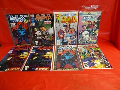 Lot Of 57 Miscellaneous Marvel Comics: The Punisher Comics *see Details* ~!
