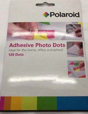 Double Sided Adhesive Photo Dots Pack of 125 Polaroid