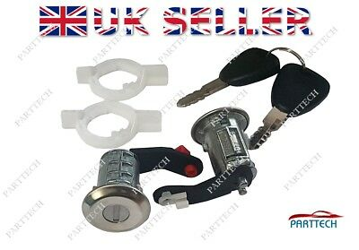 RENAULT MASTER 1998-2009 DOOR LOCK FRONT LEFT and RIGHT with 2 KEYS NEW