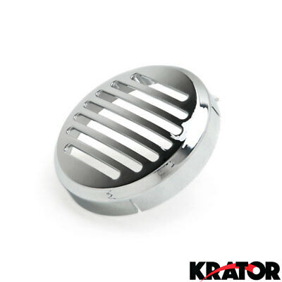 "3.5"" Inch Chrome Horn Cover for Honda Cruiser Bikes Shadow Magna Ace Sabre &more"