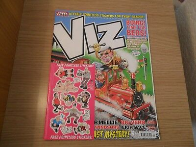 Viz Issue 268 (with free pointless stickers) over 18s only