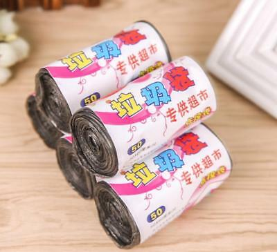 1 Roll Garbage Kitchen Toilet Waste Trash Clean Up Rubbish Bags Home