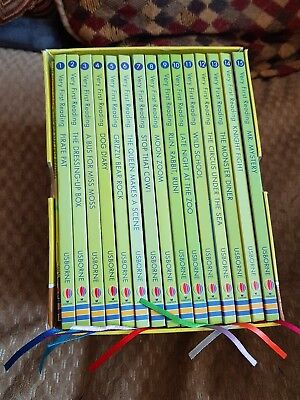 Usborne Books, very first reader set of 15 books