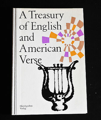 A Treasury of English and American Verse