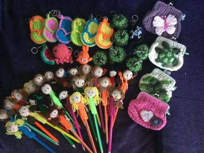 HAND  KNITTED /CROCHET Job lot  for Tombola/ school Fayre/ Resell/ Fund raising