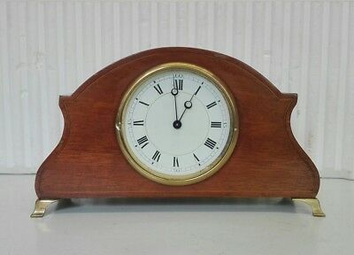 Vintage Mantle Clock with 8 Day Platform Escapement