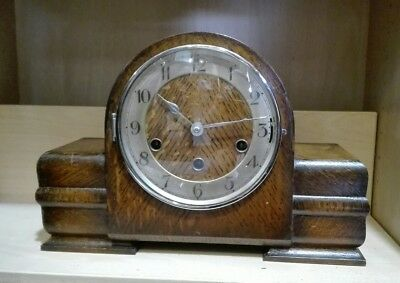 Vintage 8 Day Westminster, Whittington, St. Michael Chiming Mantle Clock