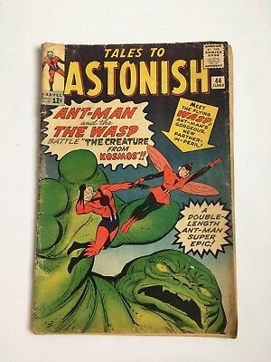 Tales to Astonish #44 June 1963 1st App of Wasp Unrestored