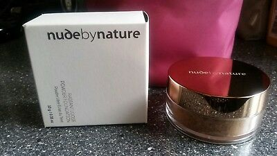 nude by nature. Radiant Loose Powder Foundation. N5 Champagne. 10 g