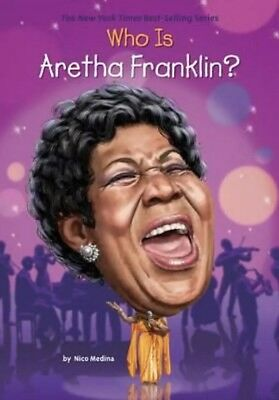 Who Was?: Who Is Aretha Franklin? by Nicolas David Medina-paperback-New