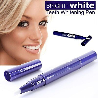 2 Teeth Tooth Whitening Gel Pen Whitener Cleaning Bleaching Kit Dental White New