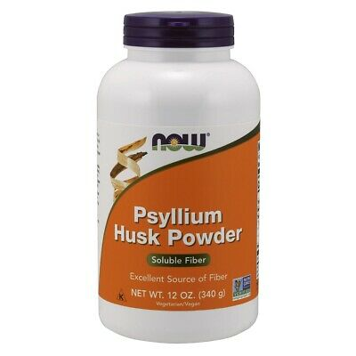 NOW Foods Psyllium Husk Powder 12 oz FREE SHIPPING. MADE IN USA