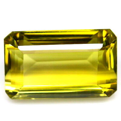 TOP BIG LEMON CITRINE : 36,41 Ct Natürlicher Lemon Citrin aus Brasilien