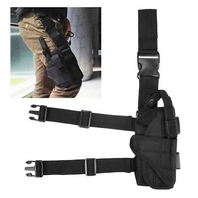 Tactical Adjustable Outdoor Waterproof Puttee Leg Pouch Hunting Accessories G
