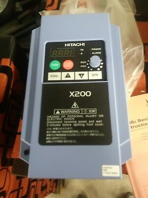 Hitachi X200-022Hfu2 Inverter