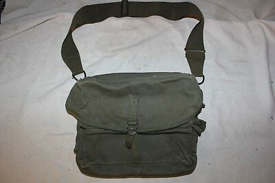 WWII WW2 Medic Pouch Bag Rare Vintage Field Medical Doctor Bag US Military Army