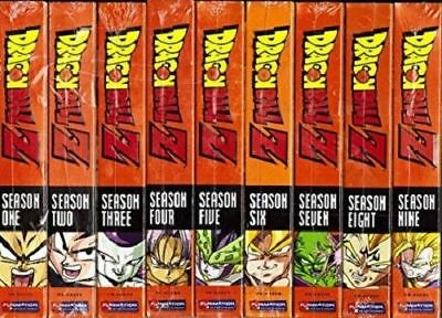 Dragon Ball Z - Seasons 1-9 BRAND NEW FACTORY SEALED