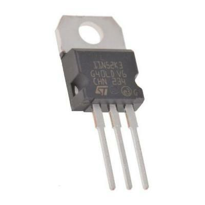 5 x STMicroelectronics STP11N52K3 N-channel MOSFET Transistor, 10A, 525V 3-Pin