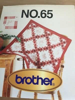 Brother Embroidery Card Number 65