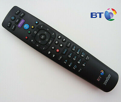 Genuine BT YouView Remote Control RC3124705/01B VGC UK Seller