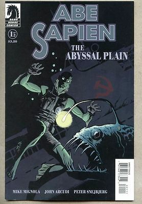 Abe Sapien The Abyssal Plain #1-2010 nm- Mike Mignola Hellboy Variant Cover