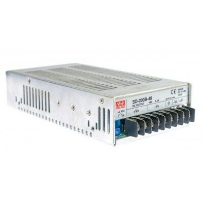 Mean Well SD-200B-48 DC/DC Power Supply Single Output 48 Volt 4.2A 201.6W 9-Pin