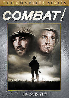 Combat - The Complete Series (DVD, 2013, 40-Disc Set) BRAND NEW FACTORY SEALED