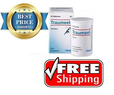 Traumeel S Natural Anti Inflammatory Tablets, Homeopathic Product- 50 tabs