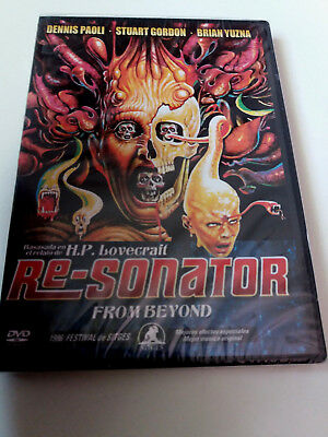 "Dvd ""Re-Sonator From Beyond"" Precintado Sealed Stuart Gordon Brian Yuzna Jeffrey"