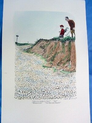 """1930 Antique Art Print Lewis Banner """"did You Mark It, Boy?"""" """"ay!"""" """"where Is It?"""""""