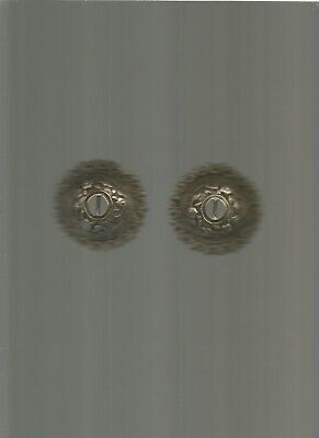 antique ottoman silver,BELT BUCKLE 2 PIECES DIAMETER FOR ONE 63 mm.complet 67 Gr