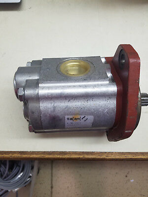 Salami Hydraulic gear pump with aluminum housing and hub