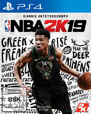 NBA 2K19 - DayOne-Edition | PS4 Basketball | NEU & OVP | Blitzversand