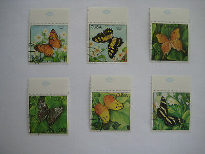 Stamps   Spanish Carribean 1982  Butterfly Series