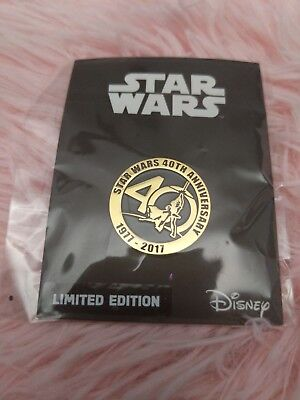 Star Wars 40th Anniversary Collector's Pin