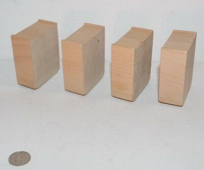 Wooden Railway Train Track Lot of 4 Risers Supports for Ascending - Thomas, BRIO