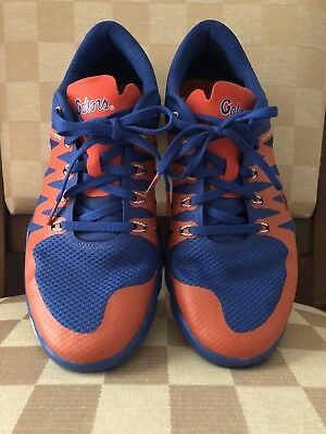 208e8cbddc7d Nike Free Trainer 5.0 V6 AMP Florida Gators Royal Team Orange Men s ...