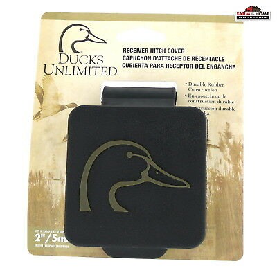"2"" Black Hitch Covers Ducks Unlimited Truck Trailer ~ New"