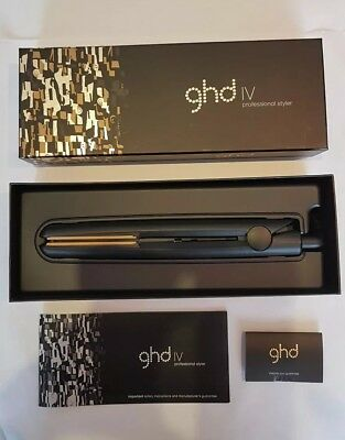 GHD Hair Straighteners IV Professional Styler With Box Genuine - Used Condition