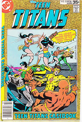 Teen Titans 53 - Last Issue (Bronze Age 1978) - 8.0