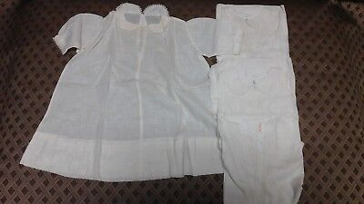 Lot of (8) pieces of Vintage Baby clothes