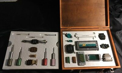 Vintage Burndy Test Kit W/ Extraction Tools RX20-18, RX20-28, RX20-25V2 & RX16-5