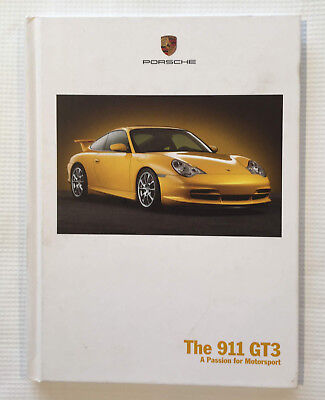 Porsche 2002 911 GT3 Hardcover Sales Brochure - Original Dealer