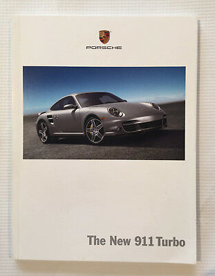 Porsche 2006 The New 911 Turbo Sales Brochure - Original Dealer