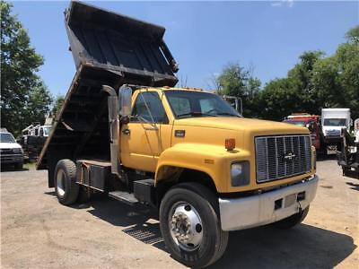 2000 Chevrolet C7500 Flatbed Dump CAT 3126 UNDER CDL