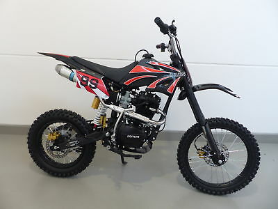 250ccm Dirt Bike Dirtbike Cross Pitbike 250cc RV-Racing Enduro E-Starter Schwarz