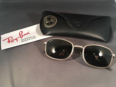 0815775480 Vintage Ray Ban Sunglasses SIDESTREET Metal 1 Square by B L MOVING SALE